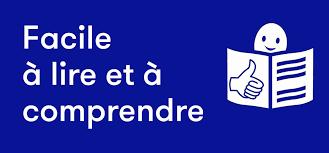 Facile à lire et à comprendre (logo)